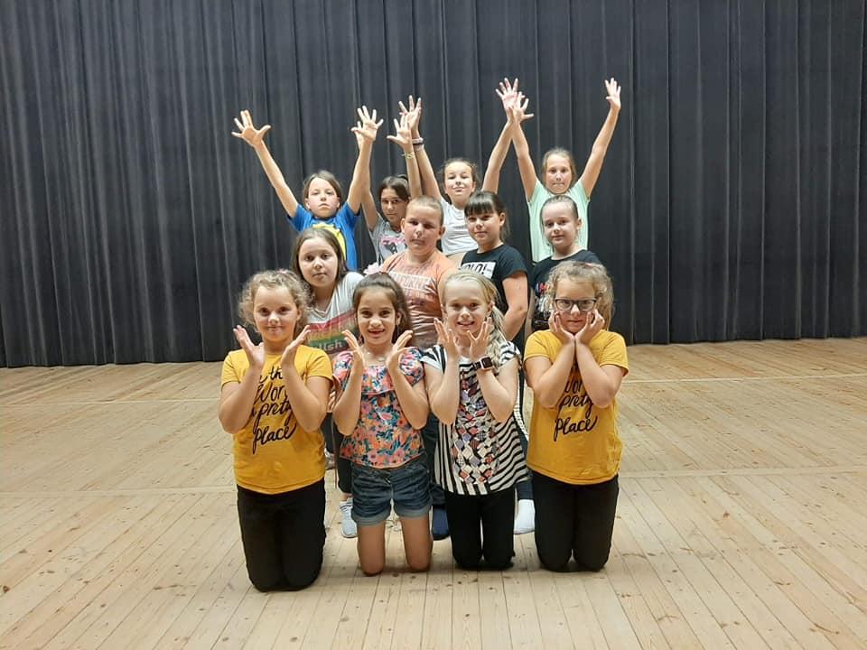Sekcja taneczna. Uczestnicy Grupa II.
